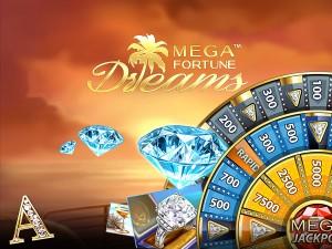 Mega Fortune Dreams Slots is een leuke nieuwe casino gokkast